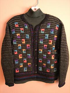 Knitting Bag Jacket