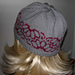 Fair Isle Flower Design Beanie pattern