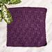 Mulberry Dishcloth pattern