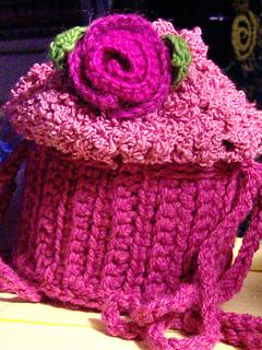 cupcake purse (closeup)