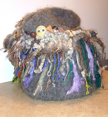 Ozark Handspun fulled bag