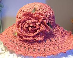 2005 crochet hat