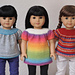 Ready for Spring Top and Tunic for 18 Inch American Girl Dolls pattern