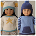 """Rambler Sweaters and Hats for 18"""" American Girl Dolls pattern"""