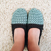 Two-Toned Slippers pattern