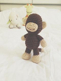 Little Bigfoot Monkey [CROCHET FREE PATTERNS] #Monkey #crochet ... | 320x240