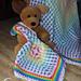 Rainbow Baby Lovey pattern
