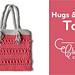 Hugs & Kisses Tote Bag pattern