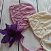 Lilly bonnet pattern