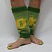 Monster University Leg Warmers pattern