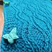Wibbly Wobbly Wave Shrug pattern