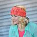 Star Stitch Earwarmer Headband pattern