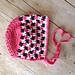 Side Step Baby Bonnet pattern