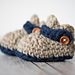 Button Strap Baby Loafers pattern