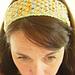 Star Stitch Headband pattern