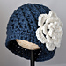 Classy Chunky Flowered Cloche pattern