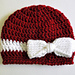 Classy Ribbon and Bow Baby Hat pattern