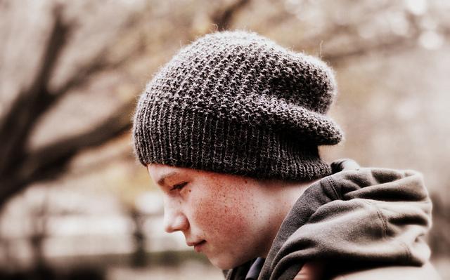 knit pattern for slouchy hat men beanie knitting pattern