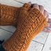 Minerva Mitts pattern