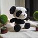Panda Amigurumi Pattern pattern