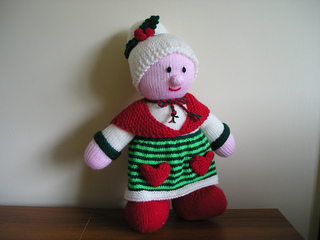 - 0101 Santa /& Mrs Claus Knitted Toys 30cm tall Knitting Pattern