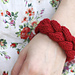 Maiden Braid Cable Bracelet and Headband pattern