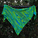 Dancing in the Rain Shawl pattern