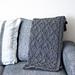 Nestled Diamonds Blanket pattern