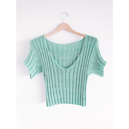 kristine queued Ripple Crop Top Worsted by Jessie Maed Designs