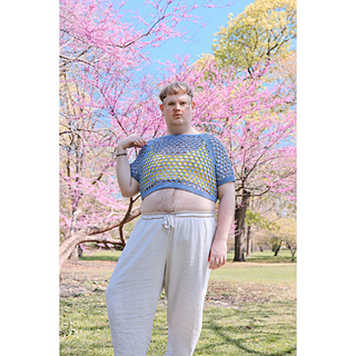 Modeled with James N Watts' coordinating Look At My Holes crop.
