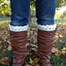 Lacy Boot Cuffs pattern