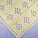 EZ Braided Lace Car Seat Baby Afghan pattern