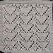 Heart Lace Washcloth  pattern