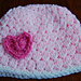 Heart Hat - Girl's Valentines Day Hat pattern