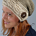 Cable Brimmed Slouch Hat pattern