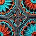 Daisy Afghan pattern