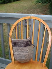 crocheted bag 2