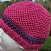 Hat #17 Mini Honeycomb pattern