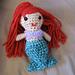 Little Mermaid Amigurumi pattern