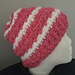 Rugged Slopes Messy Bun and Beanie pattern
