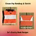 Cream Pop Handbag and Clutch pattern