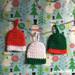 Mini Beanie Ornaments pattern