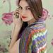 Collared Lace Shawl pattern