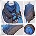 Lace Shawl Canneto pattern