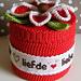 Crochet Flower giftbox pattern