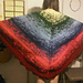 Sunrise, Sunset Blanket Shawl pattern