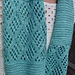 Blue Glacier Cowl pattern