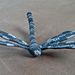 3-D Crochet Dragonfly with Wire pattern