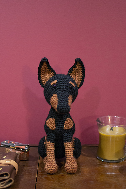 Tommy the Dog crochet pattern - Amigurumi Today | 640x427