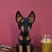 Doberman Pinscher Dog pattern
